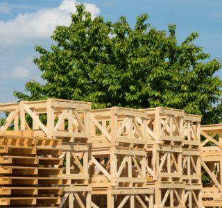 Обрешетка деревянная