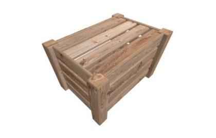 Ящики дощатые не разборные для грузов массой до 500 кг